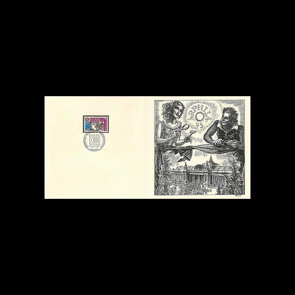 83DECA-27 : 1974 - Gravure Decaris 'Exposition philatélique Arphila'
