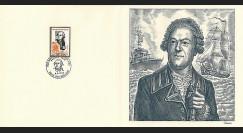 83DECA-42 : 1972 - Gravure Decaris 'Amiral de Grasse 1722-1788'