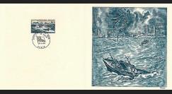 83DECA-47 : 1974 - Gravure Decaris 'Sauvetage en Mer'