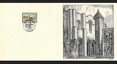 83DECA-54 : 1972 - Gravure Decaris 'Abbaye de Charlieu'