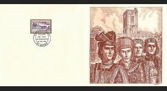 83DECA-56 : 1973 - Gravure Decaris 'Palais Ducs de Bourgogne'