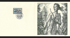 83DECA-59 : 1973 - Gravure Decaris 'Château de Gien'