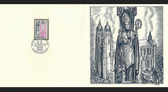 83DECA-63 : 1974 - Gravure Decaris 'Basilique de Saint Nicolas de Port'