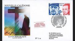 REP08-NC : 2008 - Pli Nouvelle-Calédonie '50 ans de la Ve République'