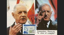 REP08-13CP : 2008 - Carte maxi 'Cinquantenaire de la Constitution'