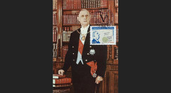 REP08-14CP : 2008 - Carte maxi 'Cinquantenaire de la Constitution'