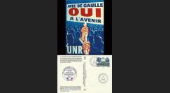 REP08-16CP : 2008 - Carte UNR 'projet de modernisation de la Constitution'