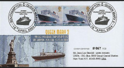 QM2-7 : 2004 - Voyage inaugural Southampton - New-York du Queen Mary 2