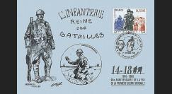 W1 08-15CP : 2008 - Carte maxi 'Hommage aux poilus - Grenadier'