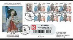 PE567a : 2008 - FDC reco '90 ans Armistice & Strasbourg libéré des Soviets'