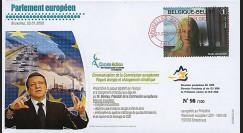 BR92 : 2008 - FDC Bruxelles 'Communication de la Commission européenne'