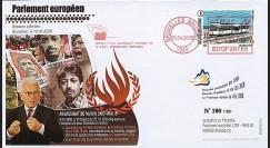 BR95 : 2008 - FDC Bruxelles 'Assassinat de M. Thalib