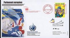 BR96 : 2008 - FDC Bruxelles '10 ans de l'Union économique et monétaire'