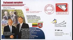 BR97 : 2008 - FDC Bruxelles 'Sommet UE-USA - dernier voyage du Pdt Bush'