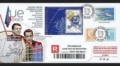 PE566a : 2008 - FDC reco 'Sarkozy & Barosso - crise financière'