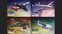 A380-73CM : 2008 - 4 cartes maxi 'A380 Qantas