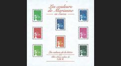 PE445-2NF2 : 2002 - Bloc-feuillet 'couleurs e Marianne en Euro 2/2' - France