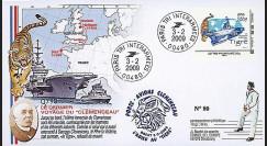CLEM 09-1 T1 : 2009 - FDC 'Dernier voyage Clemenceau' - Interarmées