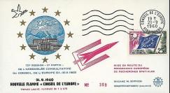 CE12-II : 1960 - FDC 'Mise en route programme eur. de recherches spatiales'