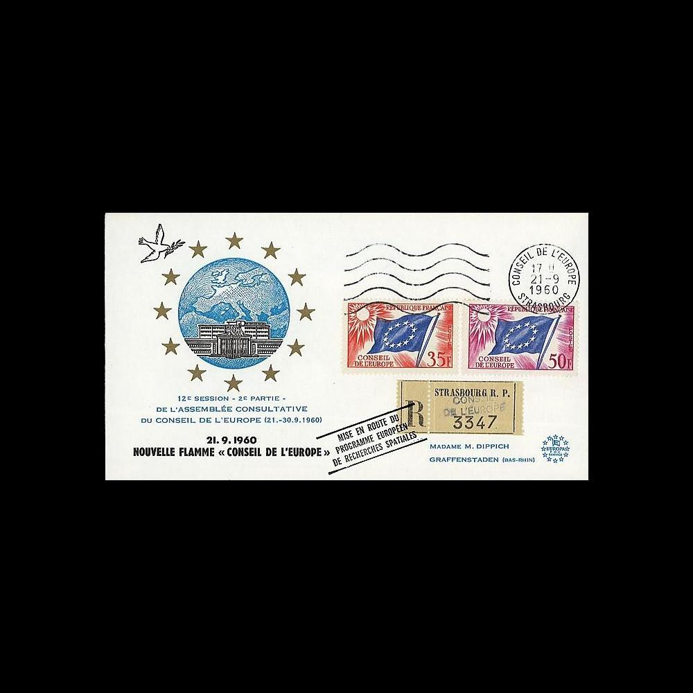 CE12-IIa T1 : 1960 - RECO 'Mise en route programme eur. de recherches spatiales'