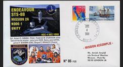 STS-88 type1 : 1998 - Amarrage du module américain Node-1 Unity
