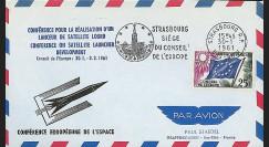 RD14 : 1961 - FDC 'Conférence européenne de l'Espace'