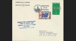 RD14a : 1961 - Env. officielle 'Conférence européenne de l'Espace'