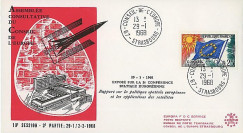 CE19-IIIA : 1968 - FDC 'Exposé sur 2e Conférence Spatiale Eur.'