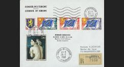 CE19-IIIA EOR : 1968 - RECO 'Exposé sur 2e Conférence Spatiale Eur.'