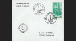 FE21L : 1970 - Env. officielle 'Inauguration Centre Spatial de Kourou'