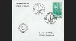 FE21L : 1970 - Env. officielle 'Inauguration Centre Spatial de Kourou'