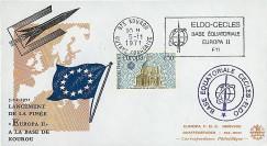 ELDO 8 : 1971 - FDC '1er lancement fusée EUROPA II'