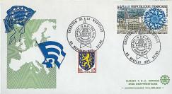 ASE 1 : 1975 - FDC 'Création nouvelle Agence Spatiale Européenne'