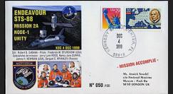 STS-88 type 2: 1998 - Amarrage du module américain Node-1 Unity