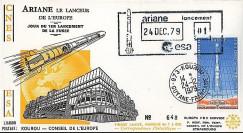 AR 3L : 1979 - FDC '1er lancement de la fusée Ariane L01'