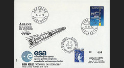 AR 5LA : 1979 - FDC 'PTT Suisses ESA' 1er Jour TP Suisse 'Ariane'