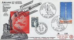 AR 6L : 1979 - FDC 'Expo philatélique Europe spatial - St-Quentin'