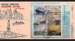 QM2-8 : 2004 - Voyage inaugural Southampton - New York du Queen Mary 2