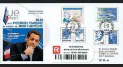 PE568a : 2008 - RECO'Bilan Présidence française UE - M. Sarkozy'
