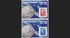 PE570N : 2009 - Porte-timbre '10 ans de l'EURO'