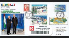 PE572a : 2009 - PAP Visite Pdt de l'Autorité palestinienne M. Abbas