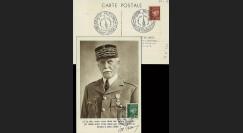 W2-FR521B-B2 : 1944 - CM  'Buste de face - 88 ans Mal Pétain' YT 521B