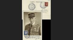 W2-FR522-E1 : 1944 - CM  'Buste de face - 88 ans Mal Pétain' YT 522