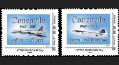 CO-RET37-38N : 2008 - 2 TPP '5e anniversaire arrêt vols Concorde'