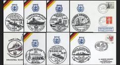 91NAV-AL10 : 1987-95 - 8 plis 'Deutsche Marine' - Marine allemande