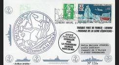 91NAV-FR06 : 1994 - Pli naval 'Patrouilleur P685 LA FOUGUEUSE'