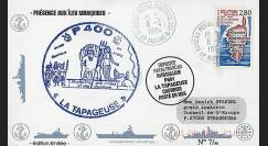 91NAV-FR07 : 1994 - Pli naval 'Patrouilleur P691 LA TAPAGEUSE'