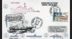 91NAV-FR13 : 1994 - Pli naval 'Patrouilleur P679 GREBE'