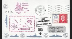 91NAV-FR31 : 1994 - Pli naval 'Aviso F794 EV JACOUBET'
