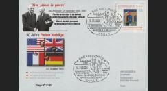 PE569A : 2008 - PAP alld '50 ans de la rencontre Adenauer - de Gaulle'